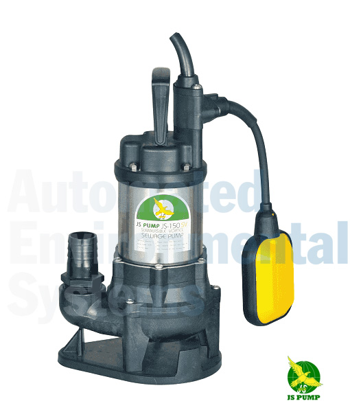 JS 150SV Auto Submersible Vortex Sewage Pump