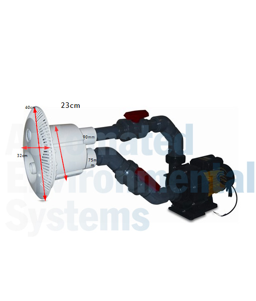 STP Counter Current Jet System for Swimming Pools
