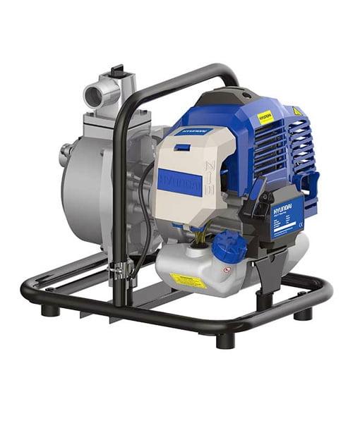 Handheld Water Meter Pump : Hyundai hy portable petrol water pump mm