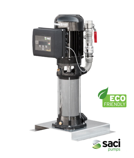 Saci E Motion V Nox Variable Speed Cold Water Booster Set