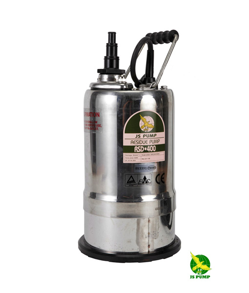 JS Pump RSD400 110v Submersible Residue (Puddle) Pump ...