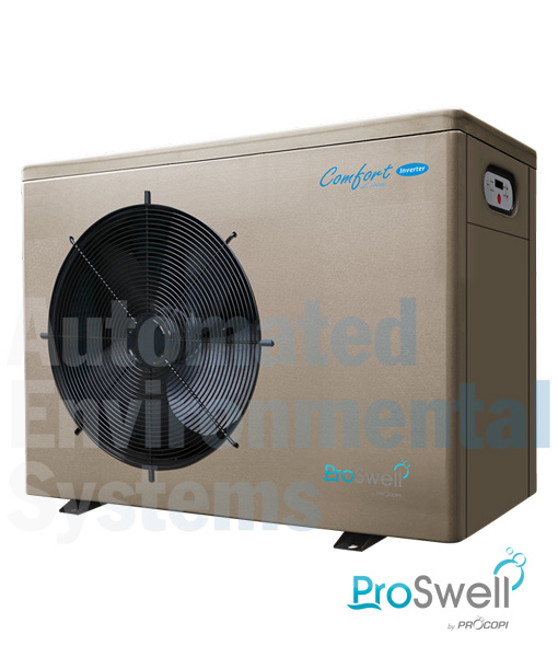Proswell Comfortline Inverter Swimming Pool Heat Pump Aes