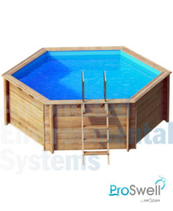 Proswell Weva Wooden Swimming Pool - Automated Environmental