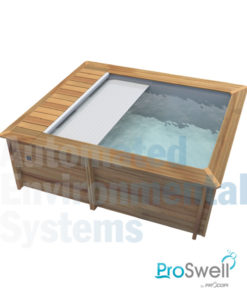 Proswell Weva Wooden Swimming Pool Automated Environmental