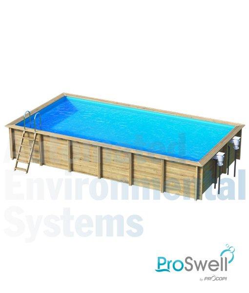 Proswell Weva Wooden Swimming Pool